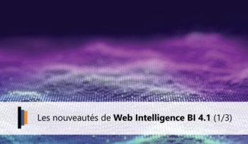 Nouveautés webi bi 4.1