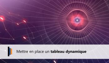 Tableau Dynamique Webi