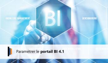 Paramétrage Portail BI 4.1