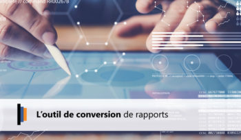 Conversion de rapports