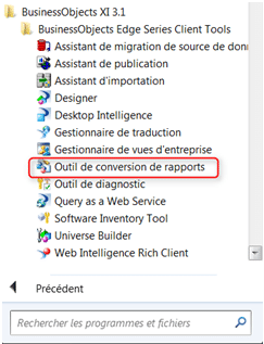 Visualisation Conversion de Rapport Deski Webi