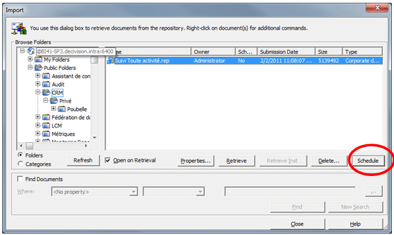 Planification Document Deski BI 4.1