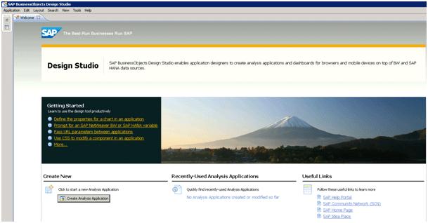 Connexion referenciel SAP Design Studio