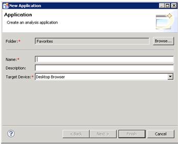 Créer une application avec SAP Design Studio