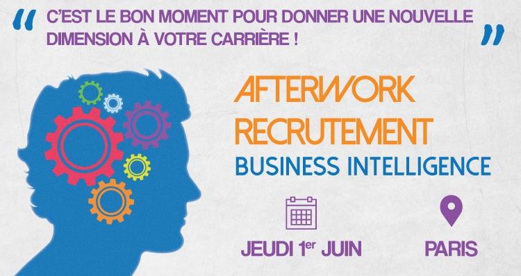 Afterwork Recrutement Business Intelligence