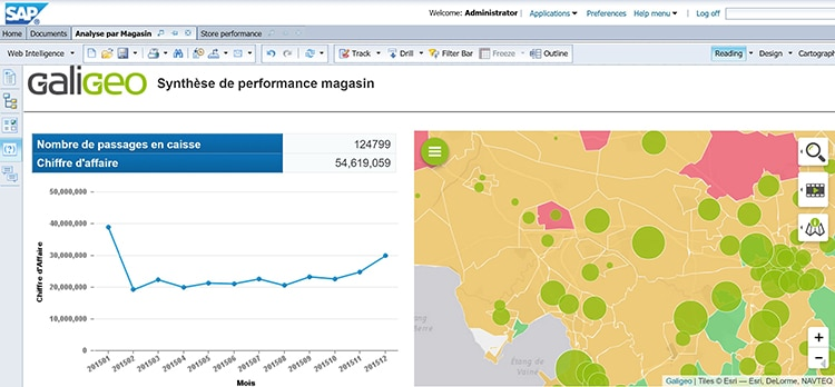 Galigeo SAP Web Intelligence