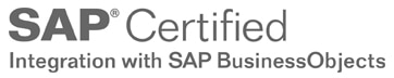 SAP Certified integration with SAP Business Objects