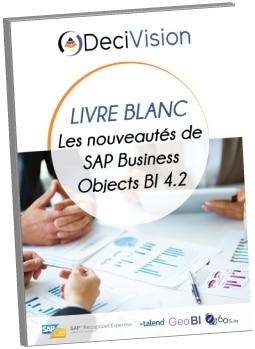 Couverture Livre Blanc Nouveautés SAP BI 4.2