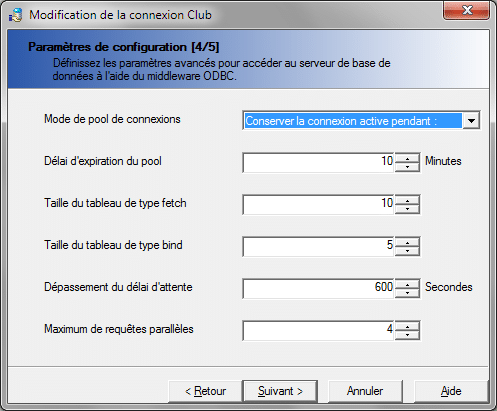 Option Max Parallel Queries