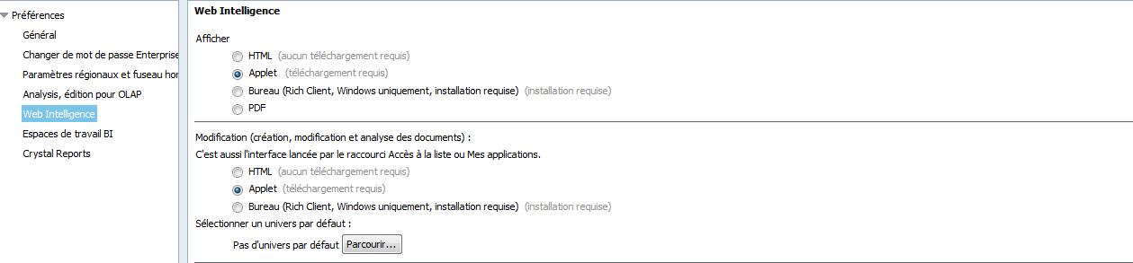 Modifier document JAVA HTML