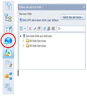 Services web applet java
