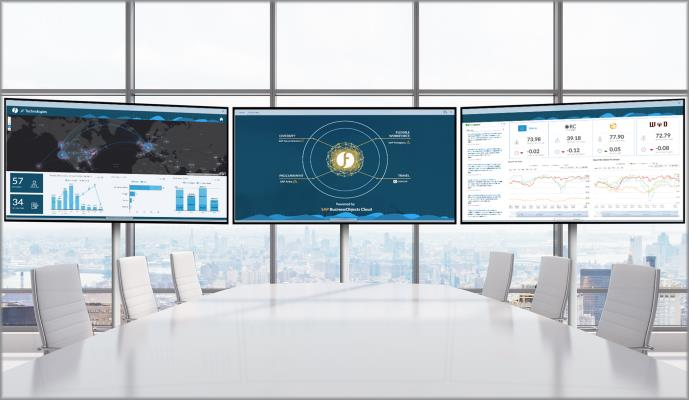 Tableau de bord Digital Boardroom
