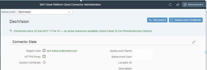 Configuration du Cloud Connector