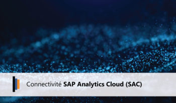 Les connectivités possibles avec SAP Analytics Cloud