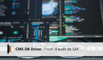 CMS DB Driver outil d'audit SAP