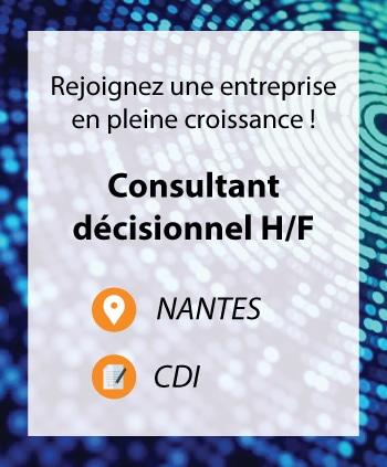 Recrutement consultant decisionnel Nantes