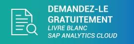 Demande de livre blanc SAP Analytics Cloud