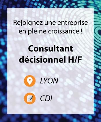 Recrutement Consultant décisionnel Lyon