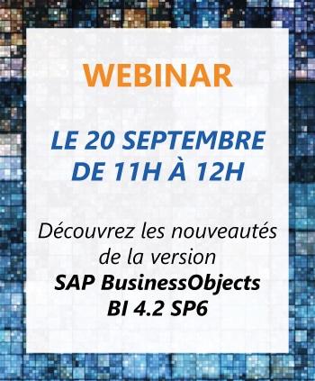 Webinar SAP BI 4.2 SP6