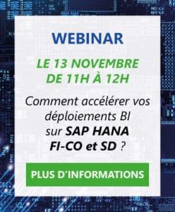 Informations Webinar SAP HANA