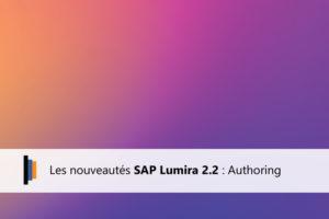 Authoring dans Lumira 2.2