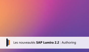 Authoring dans Lumira 2.2