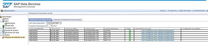 Module Administrator Data Services