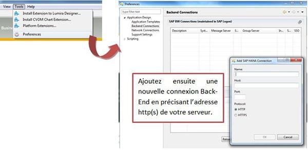 Connexion HTTPS Design Studio