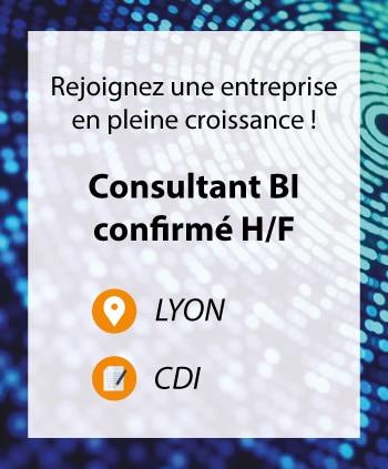 Consultant BI Confirmé à Lyon