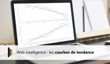 Web Intelligence et les courbes de tendance