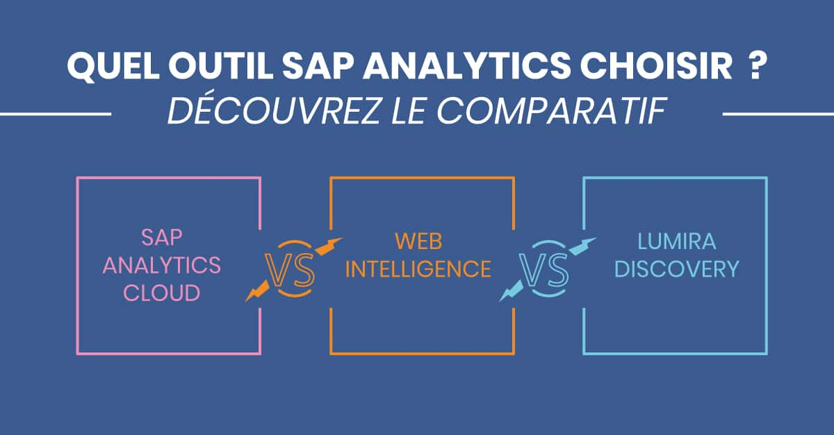 Comparatif SAP Analytics Cloud Webi Lumira