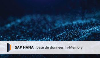 SAP HANA Base de données In Memory