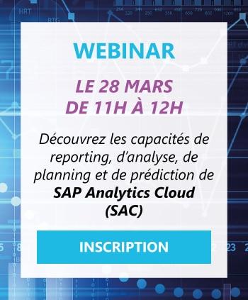 Webinar SAP Analytics Cloud
