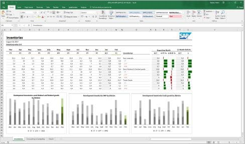 Analysis for Office avec BW/4HANA