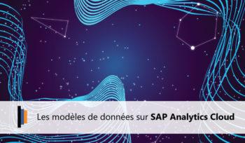 Modèle de données SAP Analytics Cloud