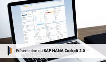 Présentation du SAP HANA Cockpit 2.0