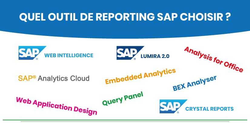 Les solutions de reporting SAP