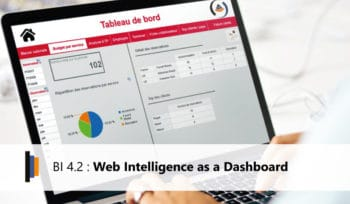 Web Intelligence as a Dashboard