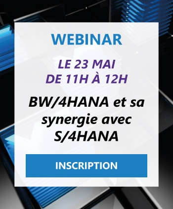 Webinar BW/4HANA S/4HANA Inscription