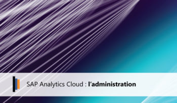Administration SAP Analytics Cloud