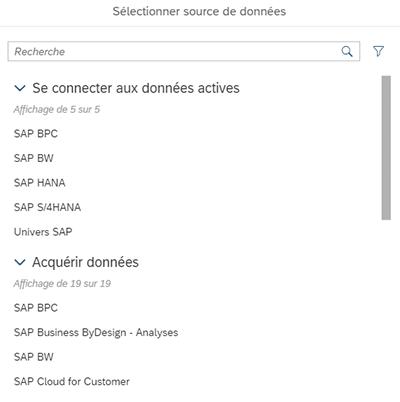 Paramétrage d'une nouvelle connexion SAC