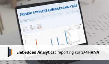 Présentation des Embedded Analytics