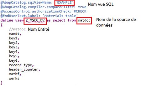 Analyse DLL d'une vue