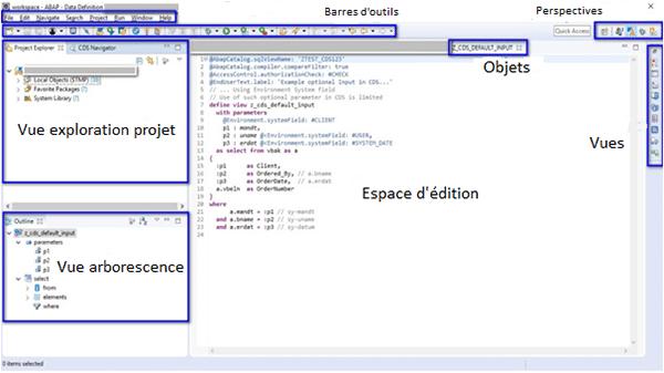 Interface ABAP Development Tool