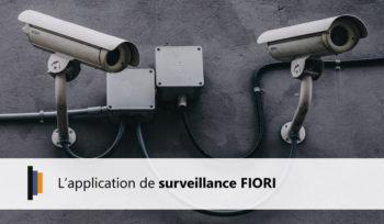Présentation de l'application de surveillance FIORI