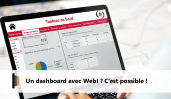 Dashboard avec Web Intelligence