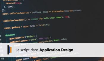 Script Application Design