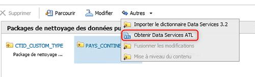 Obtenir ATL Data Services