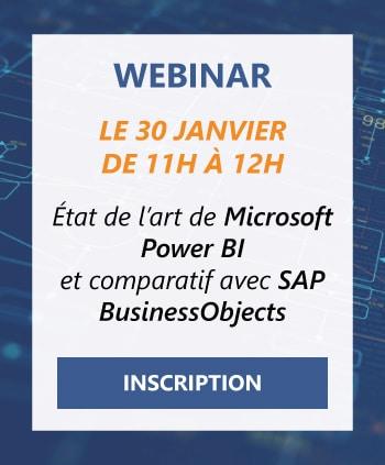 Inscription Webinar PowerBI vs SAP BusinessObjects