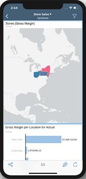 Cartes géographiques mobile SAC